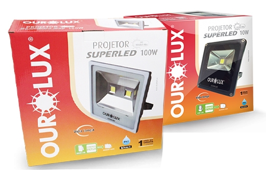 SUPERLED PROJETOR SLIM